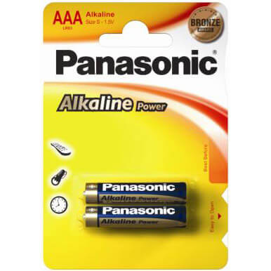 Батарейки Panasonic ALKALINE POWER LR3 (АAA)