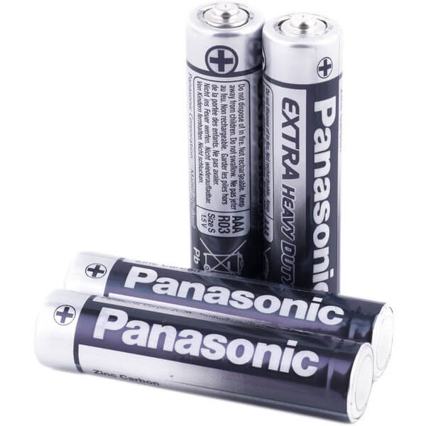 Батарейки Panasonic GENERAL PURPOSE CARBON LR3 (АAA)